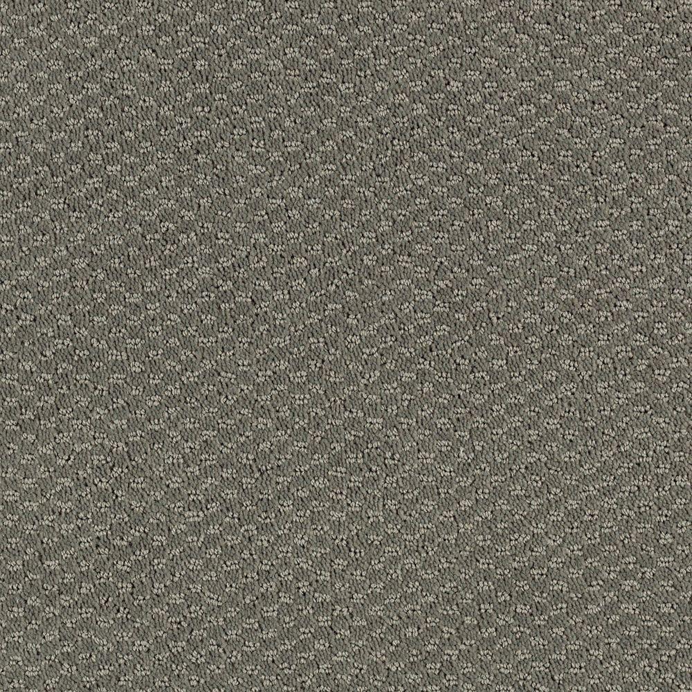 Katama II - Color Grey Flannel Pattern 12 ft. Carpet