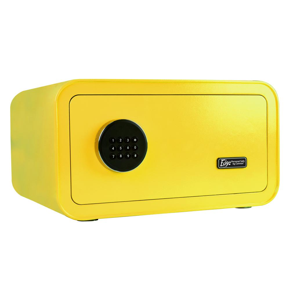 Edge Series 1.2 cu. ft. Electronic Personal Security Safe in Yellow