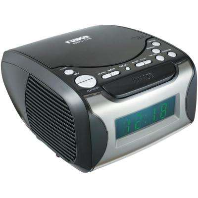 Digital Alarm Clock Radio and CD Player