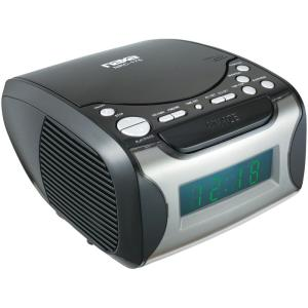 Naxa Digital Alarm Clock Radio and CD Player by Naxa