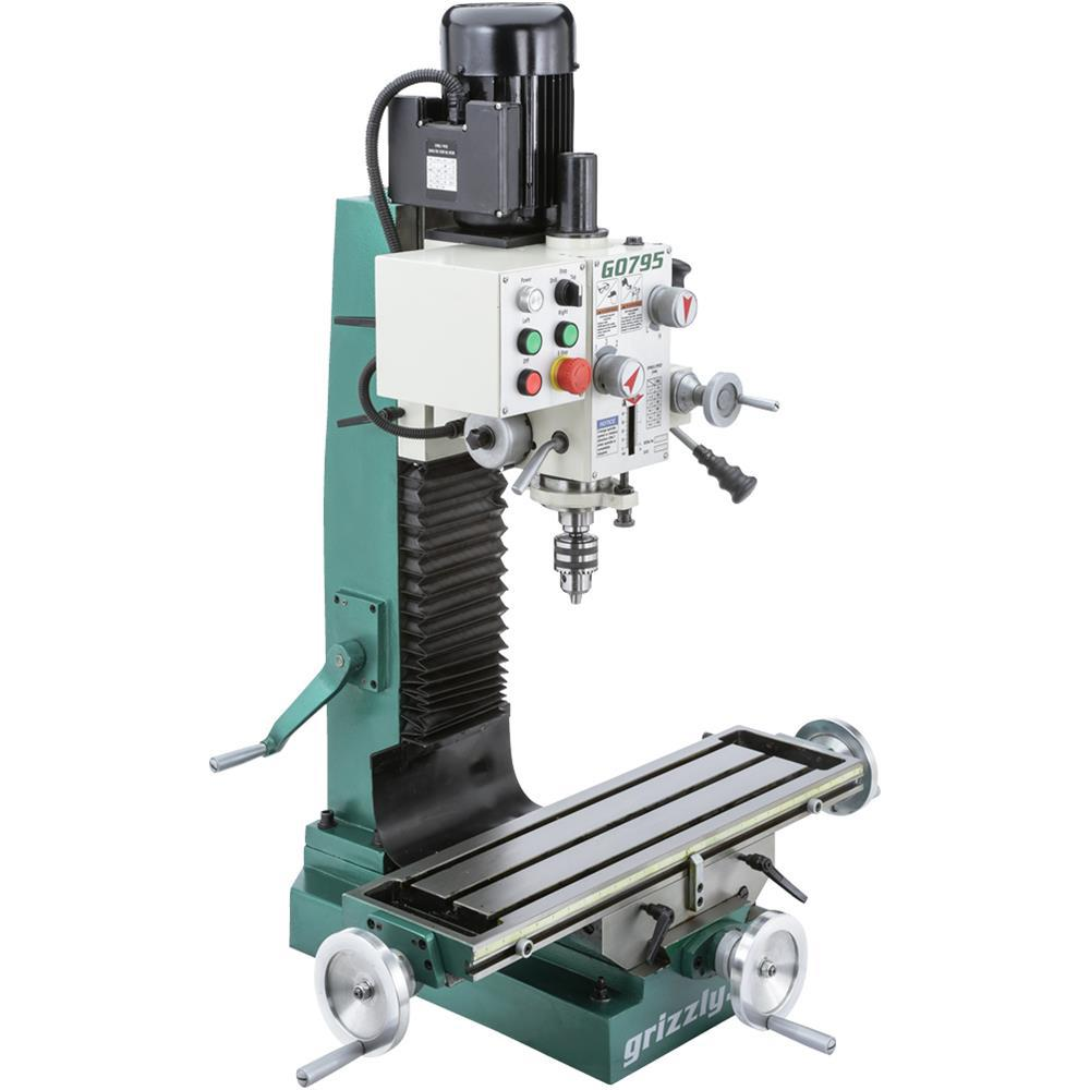 Grizzly Industrial Heavy Duty Benchtop Mill Drill G0795