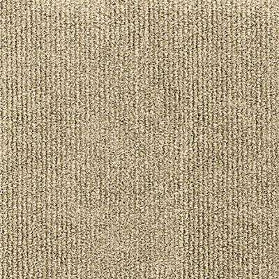 Design Smart Ivory Rib Texture 18 in. x 18 in. Indoor/Outdoor Carpet Tile (10 Tiles/22.5 sq. ft./case)