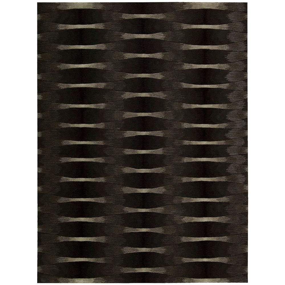 Nourison Moda Onyx 3 ft. 6 in. x 5 ft. 6 in. Area Rug