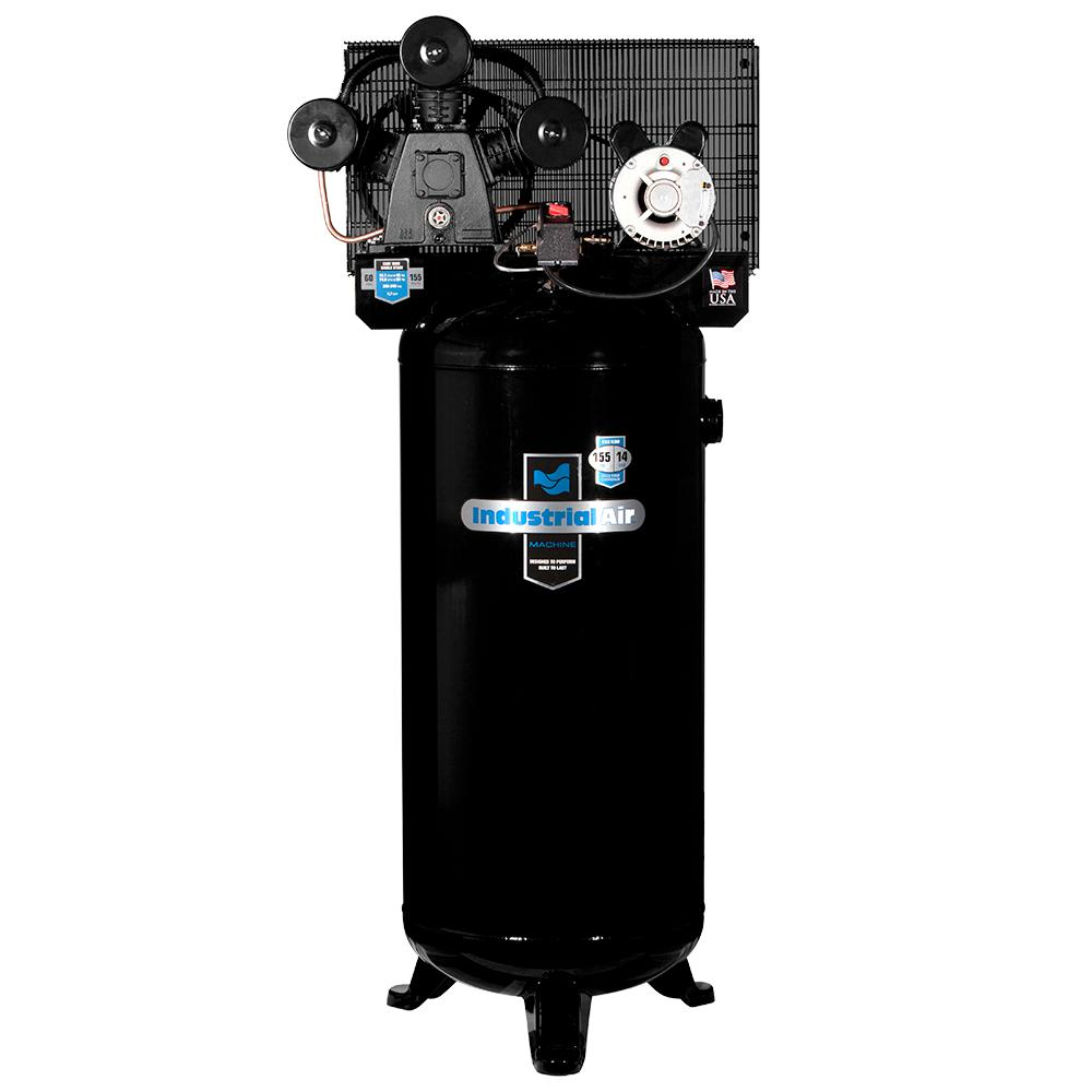 Industrial Air 60 Gal. Stationary Electric Air Compressor