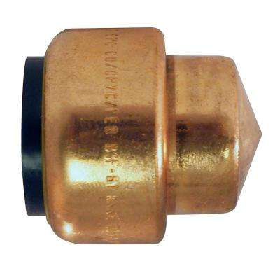 3/4 in. Copper Push-to-Connect Cap