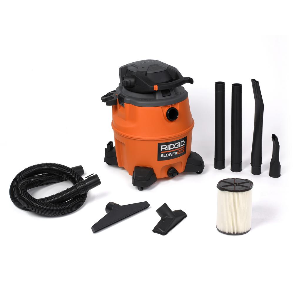6.5-Peak HP Wet Dry Vac with Detachable Blower