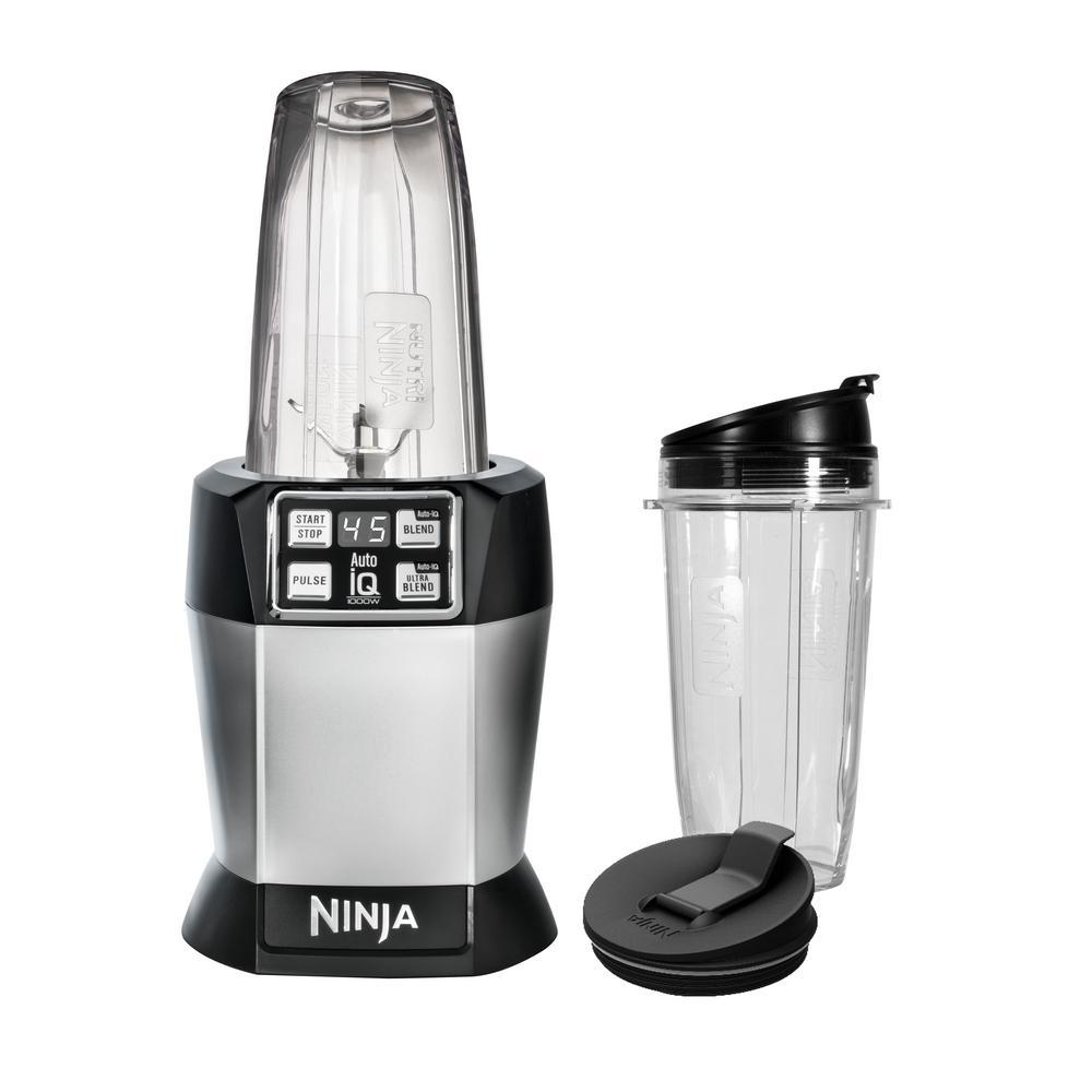 Ninja Nutri Ninja Auto IQ High Speed Single Serve Blender