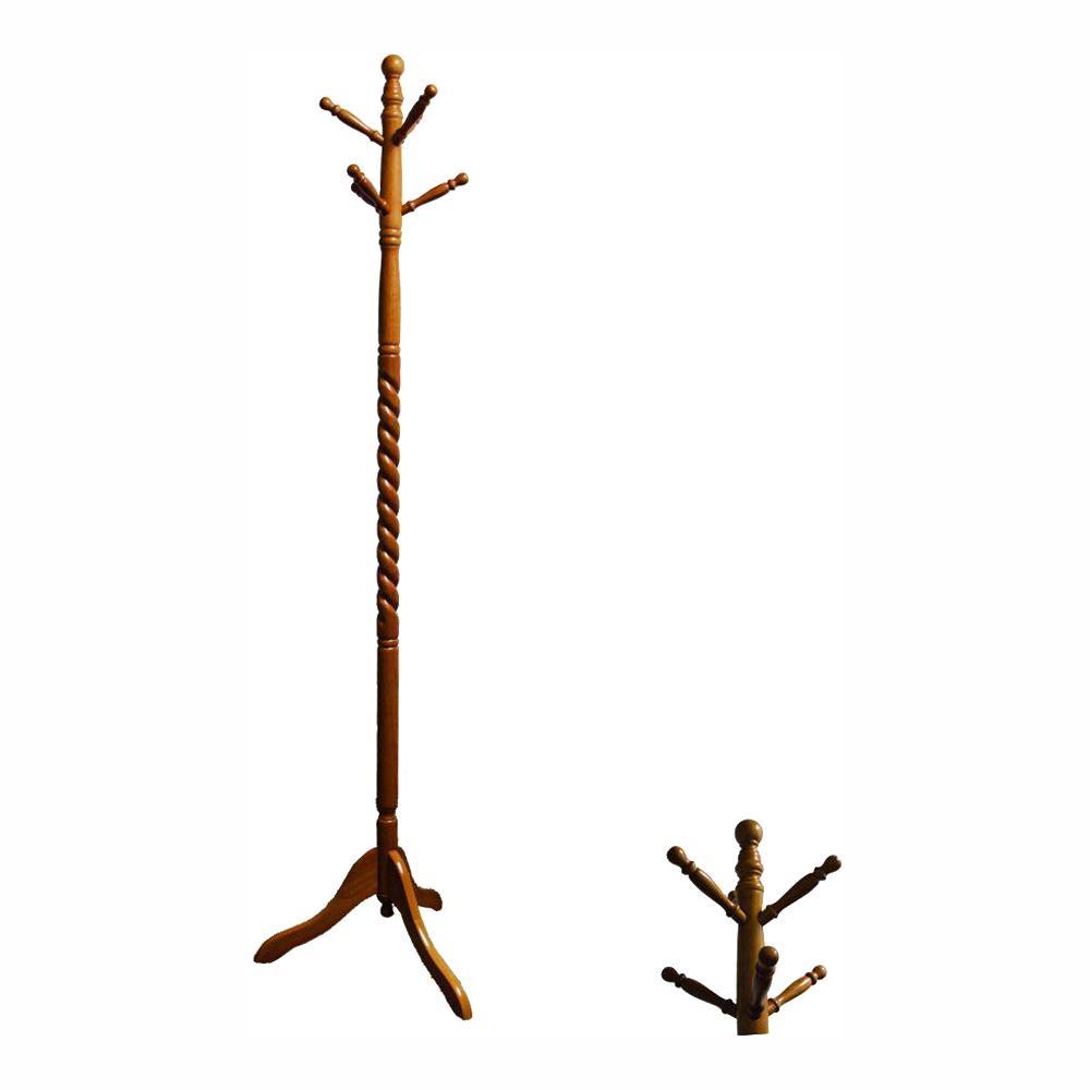 undefined Twist Natural 6-Hook Coat Rack