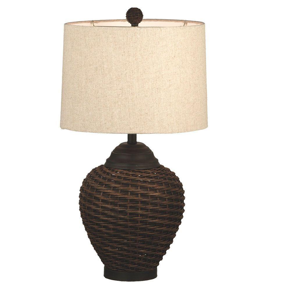 Filament Design Sundry 28 in. Dark Table Lamp