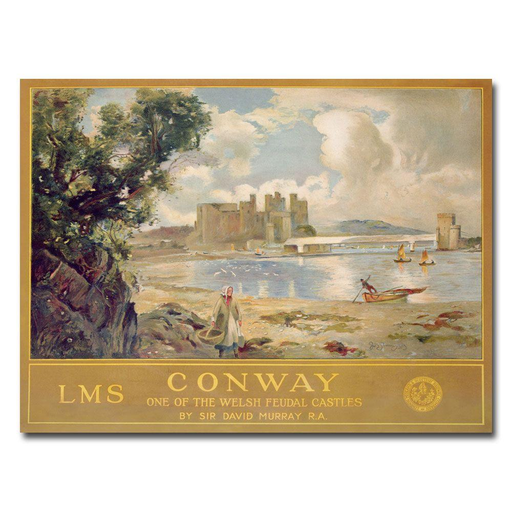 Trademark Fine Art 26 in. x 32 in. Midland & Scottish Railway 1930 Canvas Art