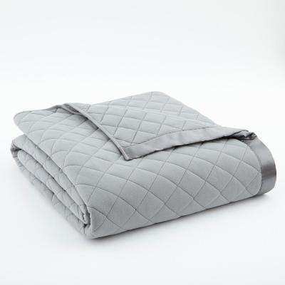 Full Queen Greystone Quilted Polyester Blanket