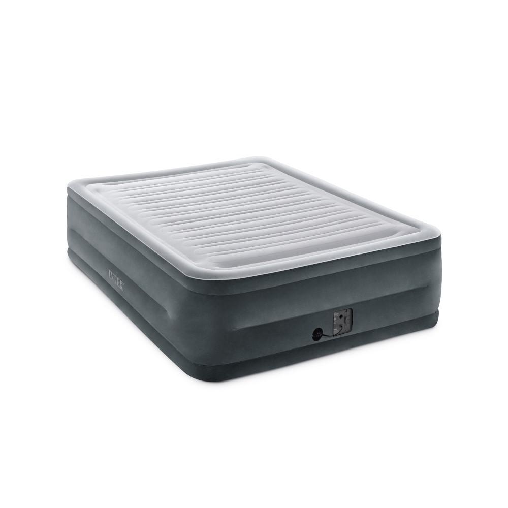 Intex Queen Comfort Plush High Rise Dura Beam Air Bed ...