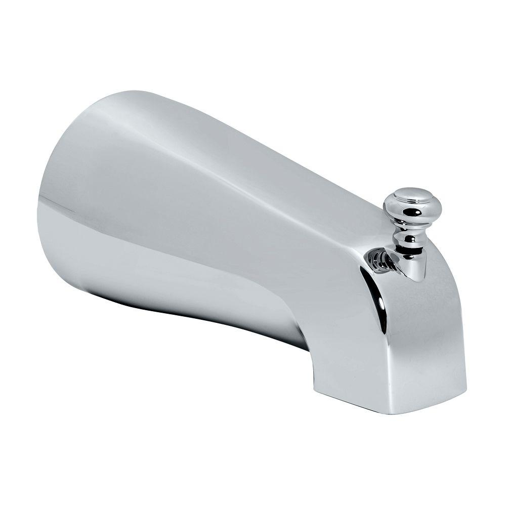 Williamsburg Diverter Spout, Polished Chrome