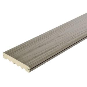 ArmorGuard 15/16 in. x 5-1/4 in. x 16 ft. Seaside Gray Grooved Capped Composite Decking Board (10-Pack)