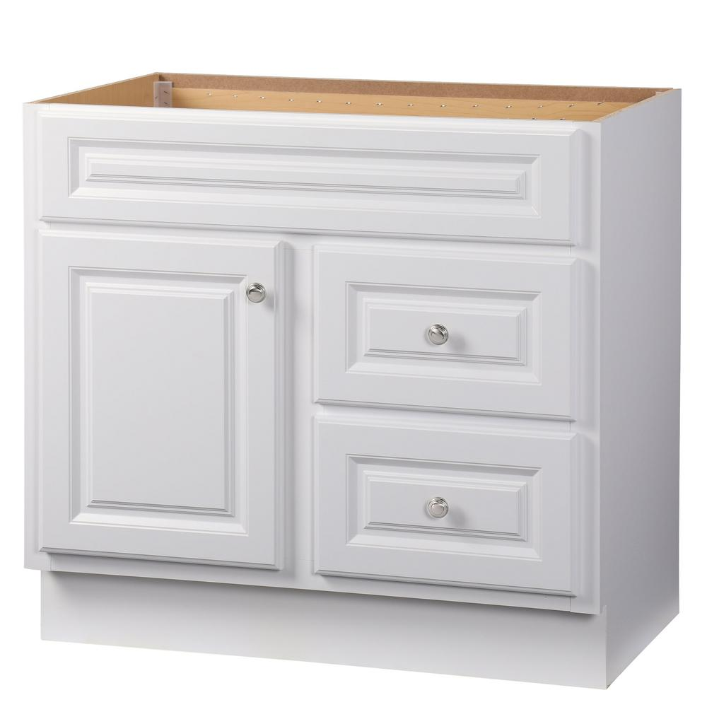 glacier bay kitchen cabinets glacier bay hampton 36 in w x 21 in d x 33 5 in h bath 3754