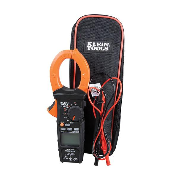 2,000 Amp Digital Clamp Meter