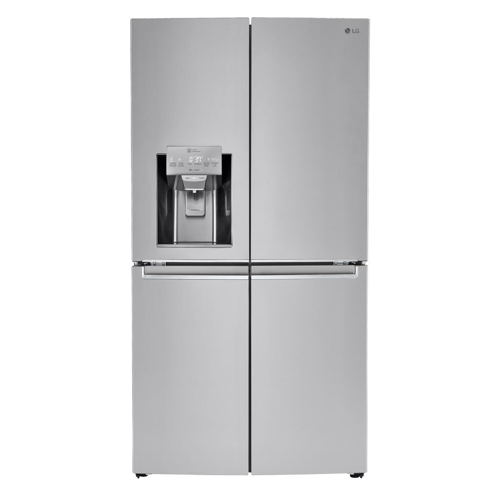 23.0 cu. ft. French Door Refrigerator in Stainless Steel, Counter Depth,