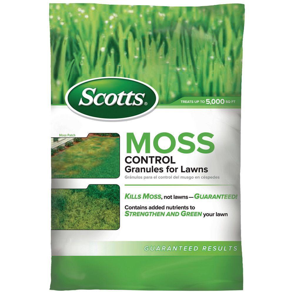 5,000 sq. ft. Moss Control Granules