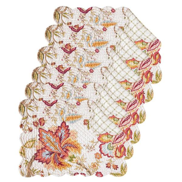 C & F Home Bethany Pink Placemat (Set of 6) 862621839S6