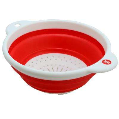 Cooper Collapsible Silicone Colander