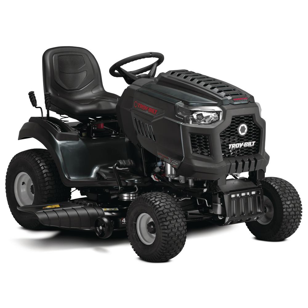 Troy-Bilt Super Bronco XP 42 in. 547 cc Engine Hydrostatic Drive Gas Riding Lawn Tractor with Mow in Reverse