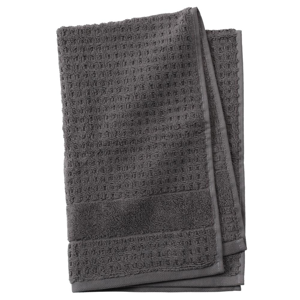 Fairhope 1-Piece Turkish Hand Towel in Charcoal