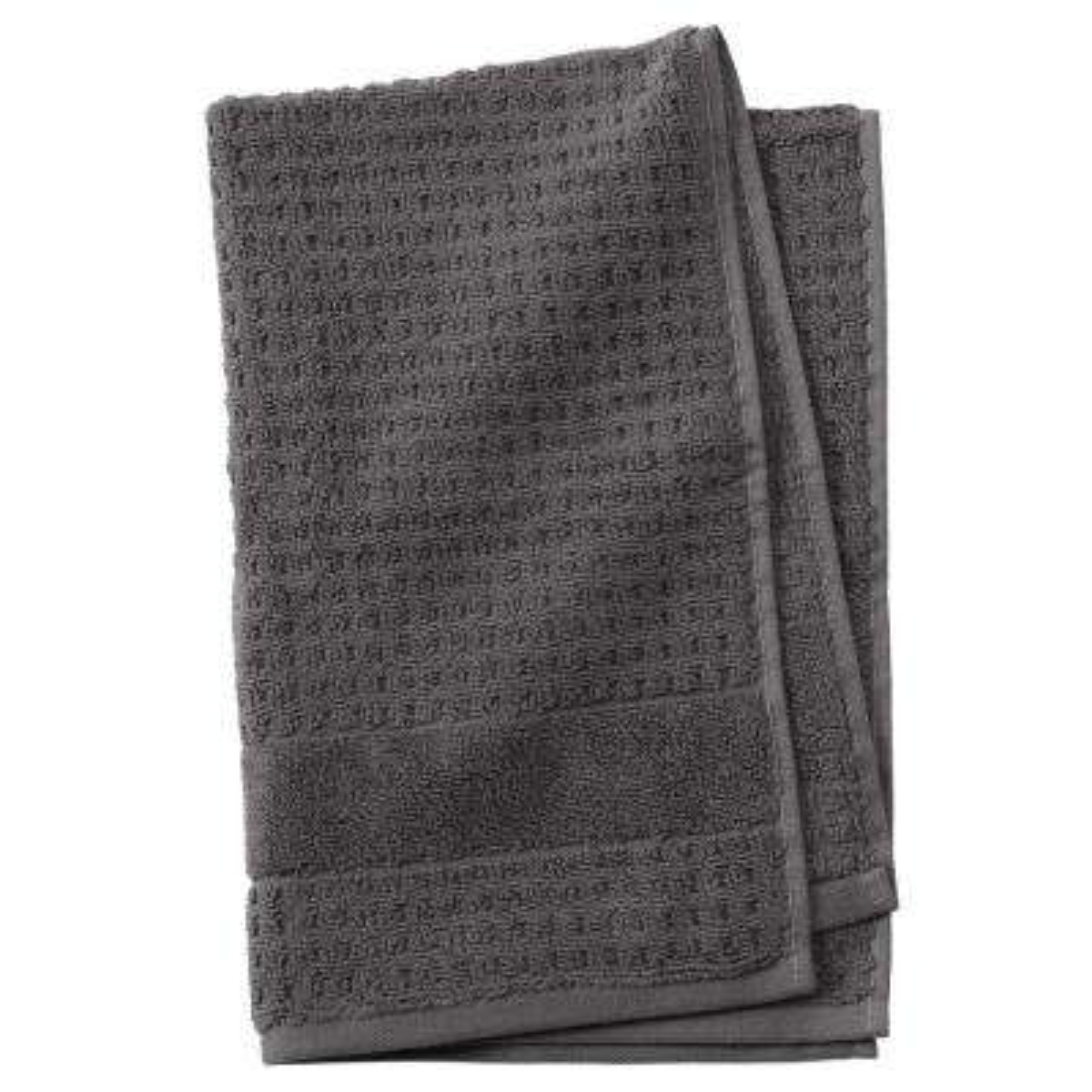 Fairhope 1-Piece Turkish Hand Towel in Charcoal