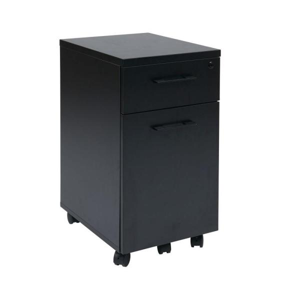 Office Star Products Black File Cabinet PRD3085-BLK