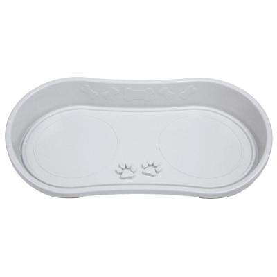 21 in. x 10.5 in. Non Skid Pet Bowl Tray