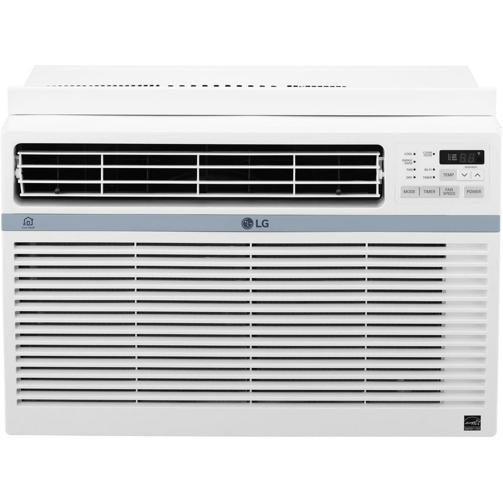 LG Electronics ENERGY STAR 8000 BTU 115-Volt Window Air Conditioner with Wi-Fi Control
