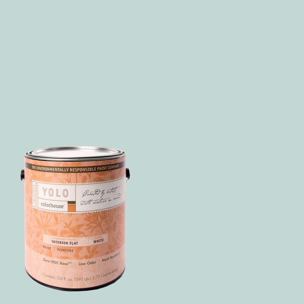 YOLO Colorhouse 1-gal. Wool .01 Flat Interior Paint-DISCONTINUED