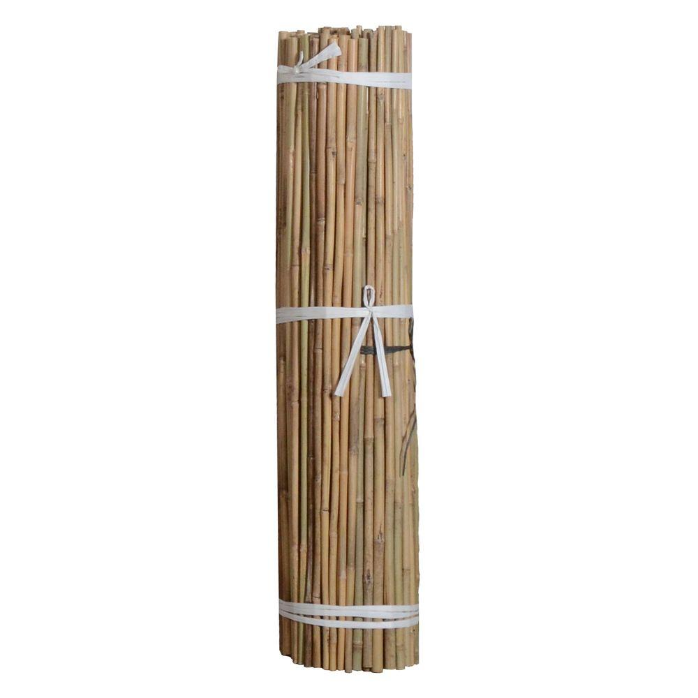 Bond Manufacturing 4 ft  x 3/8 in  Natural Bamboo (Package of 500)