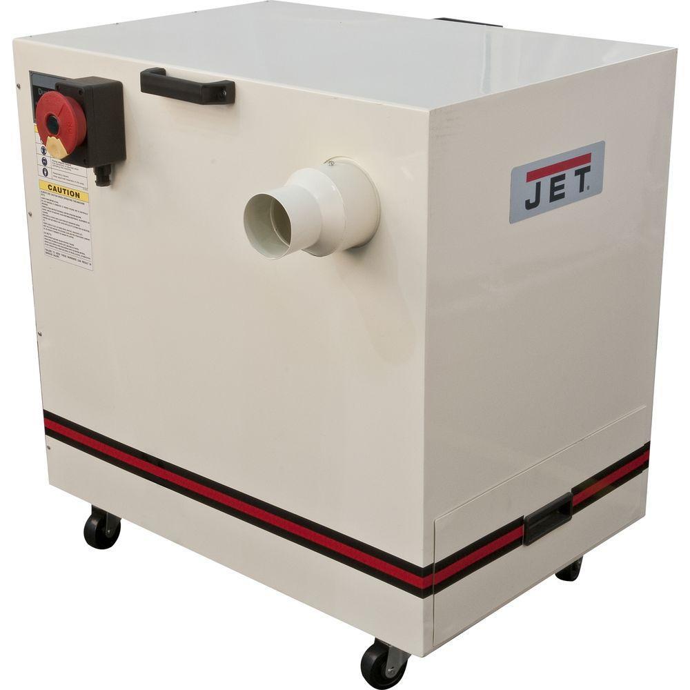 JET 1.5 HP 490 CFM 4 inch Metal Dust Collector, 115/230-Volt, JDC-500 by JET
