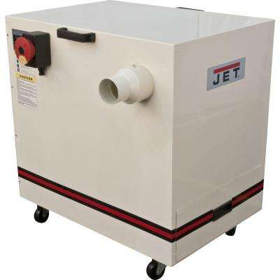 1.5 HP 490 CFM 4 in. Metal Dust Collector, 115/230-Volt, JDC-500