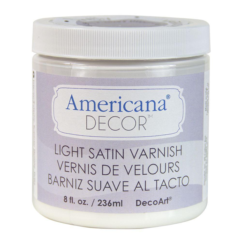Americana Decor 8 oz. Light Satin Varnish