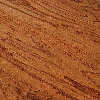 Take Home Sample - Oak Gunstock Engineered Hardwood Flooring - 5 in. x 7 in.