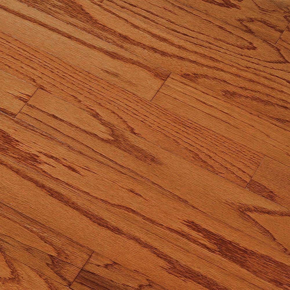 Take Home Sample - Oak Gunstock Engineered Hardwood Flooring - 5