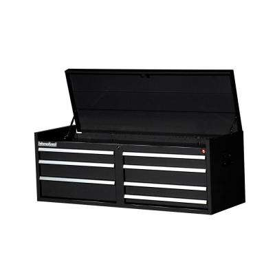 Workshop Series 54 in. 7-Drawer Top Chest, Black