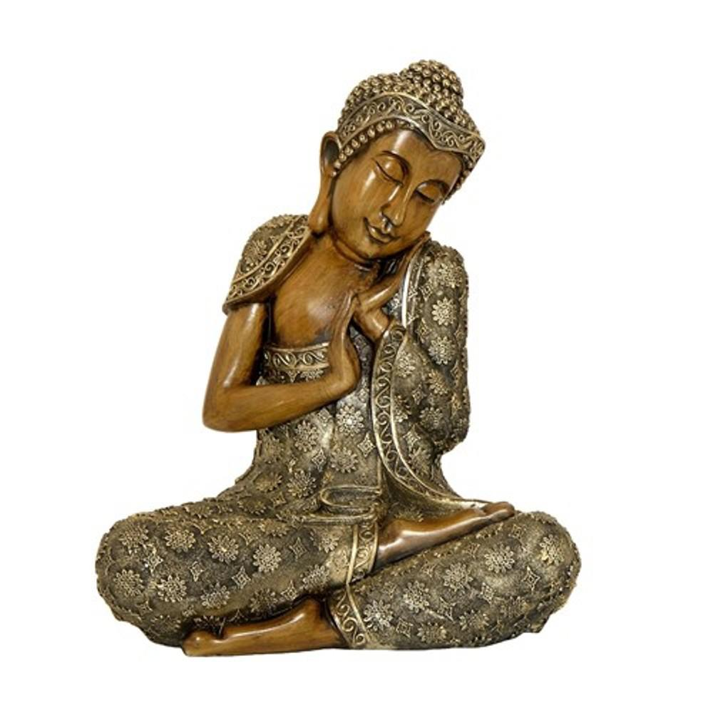 Zaer Ltd. International 17 In. T Sleeping Buddha