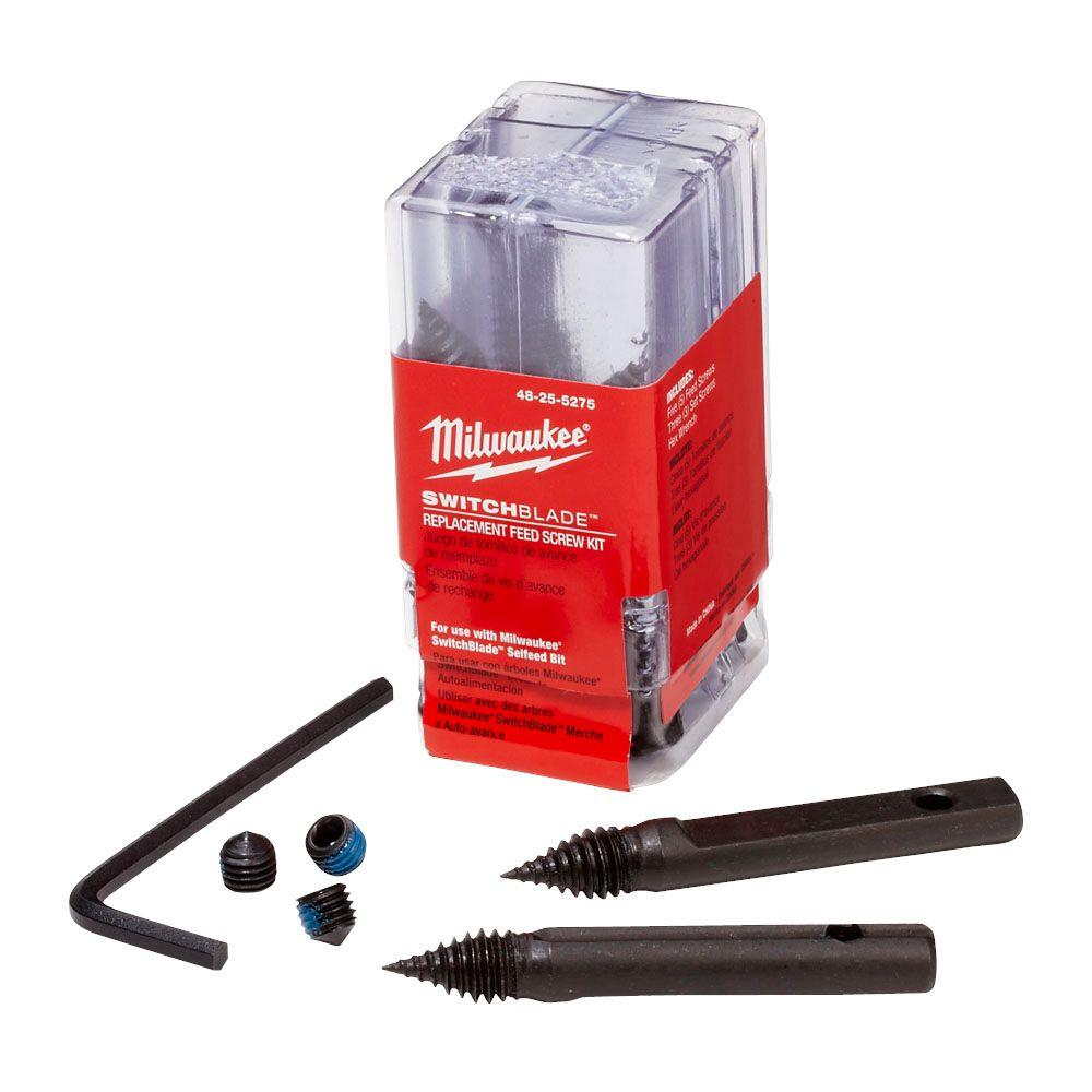 Milwaukee Switchblade 5-Feed Screw Replacement Kit