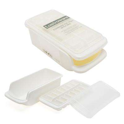Covered Ice Tray with Storage Bin 3-Piece Set