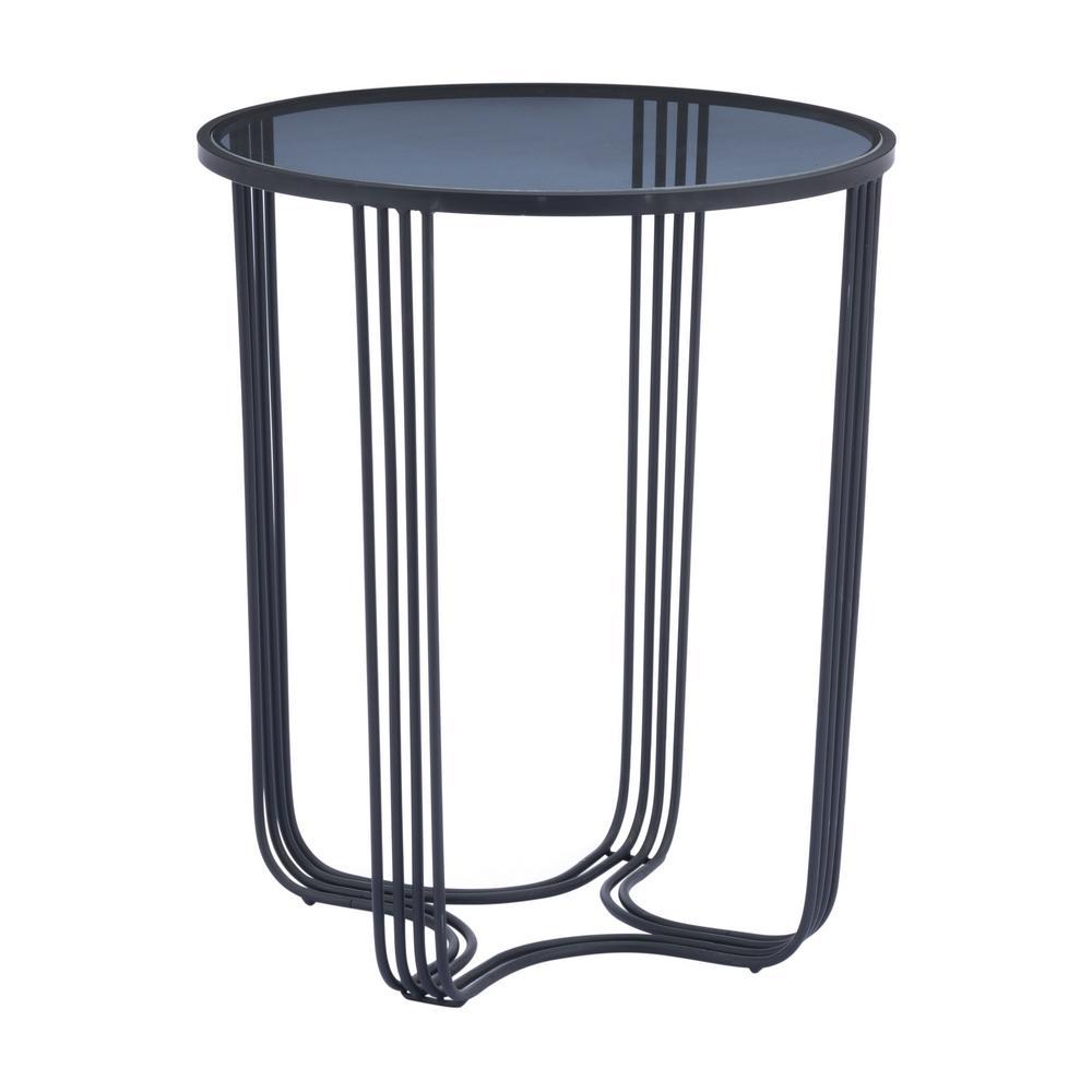 Tempo Black End Table