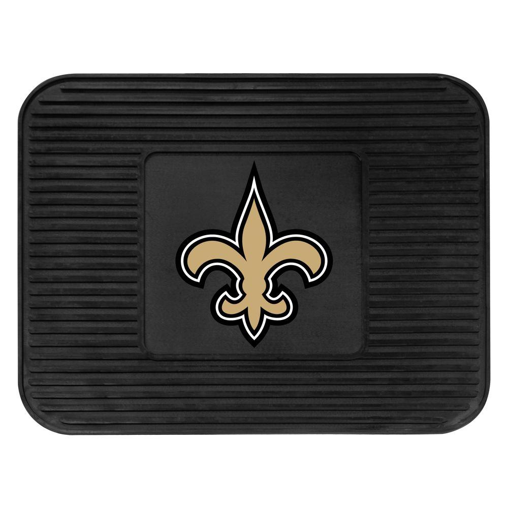 Fanmats New Orleans Saints 14 In X 17 In Utility Mat