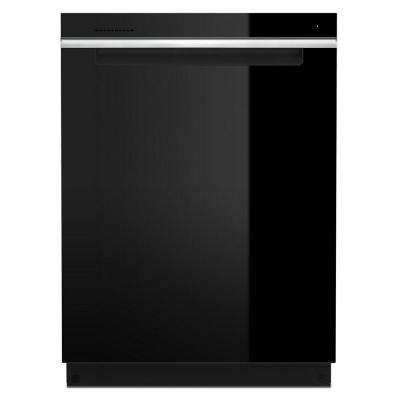24 in. Top Control Built-In Tall Tub Dishwasher in Black with Third Level Rack