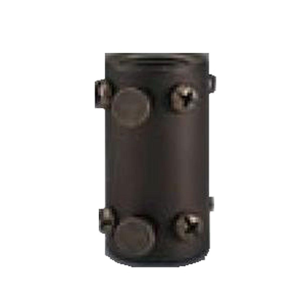 Royal Pacific Downrod Coupler Oil Rubbed Bronze-DISCONTINUED