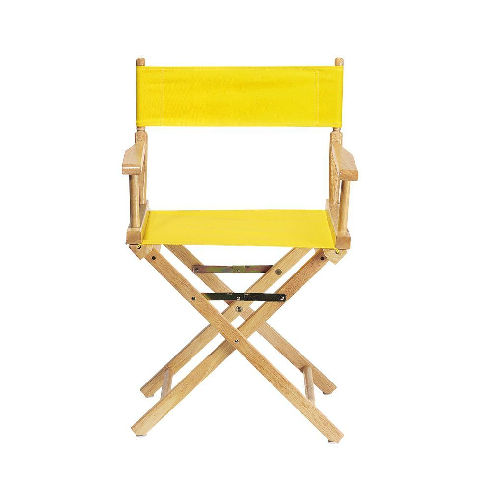 Lemon (Yellow) Director's Chair Cover