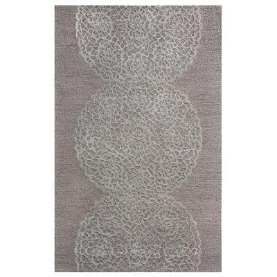 Dimensions Taupe 5 ft. x 8 ft. Area Rug