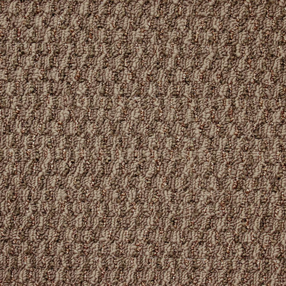 TrafficMASTER State of the Art - Color Tacoma Textured Graphic Berber 12 ft. Carpet