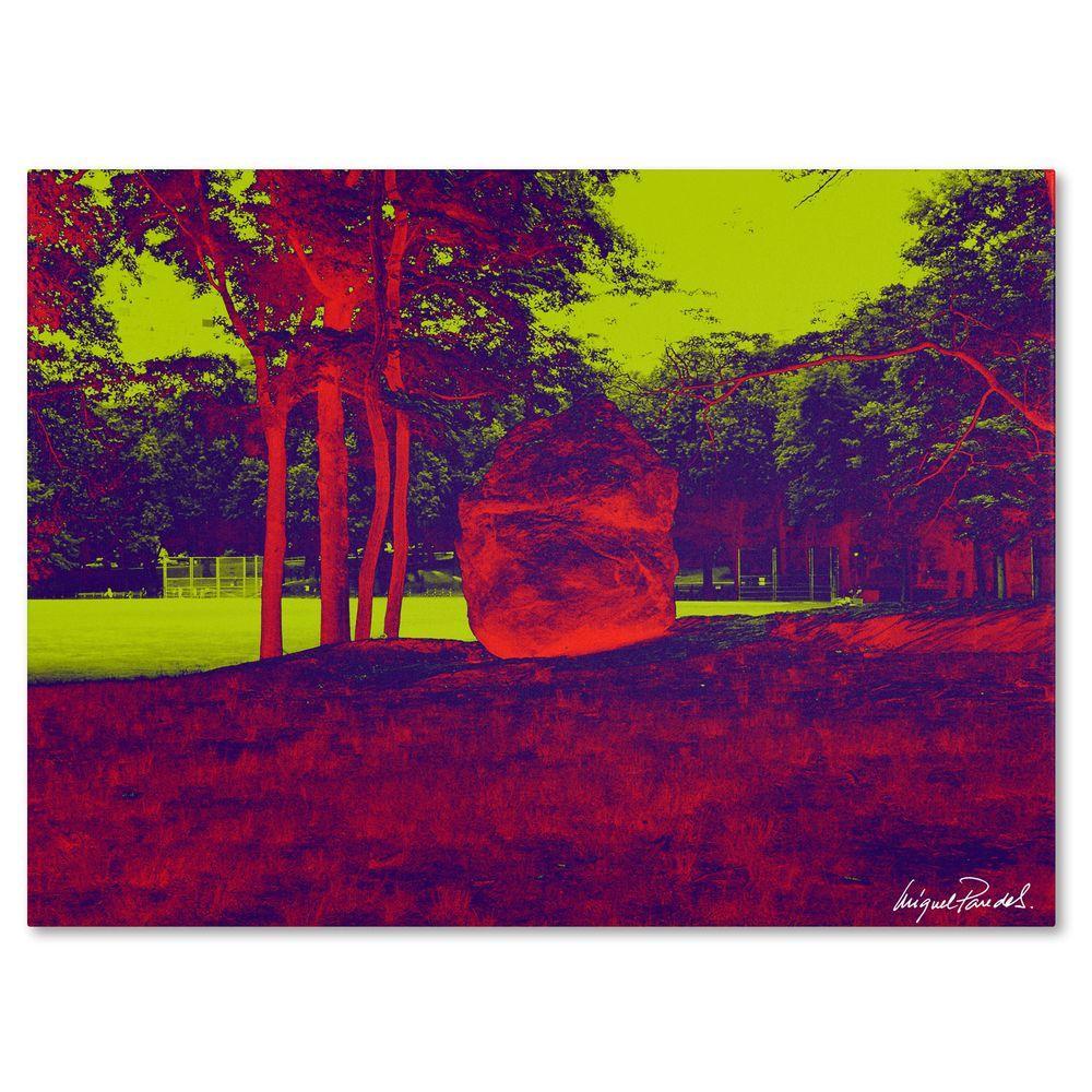 24 in. x 32 in. Enchanted Rock II Canvas Art