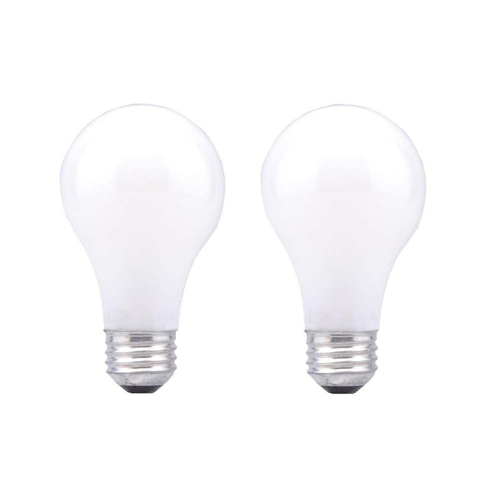 Sylvania 50 200 250 Watt Soft White 3 Way A21 Incandescent